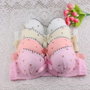 Women Underwire Bra Set Lace Push-up Bra + Knicker Underwear Lingerie 32-36B/A
