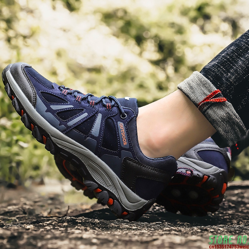 Zapatillas De correr para Hombre, zapatos De malla, parte inferior De goma,...