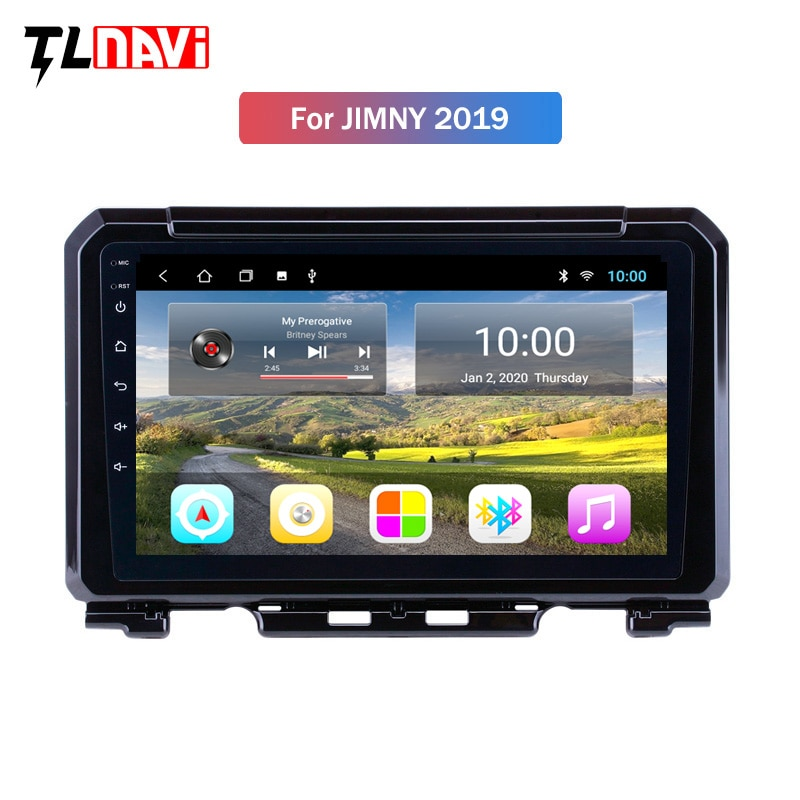 2G RAM 9 inch Android 10 full touch screen car multimedia system for 2019 Suzuki JIMNY gps navigation