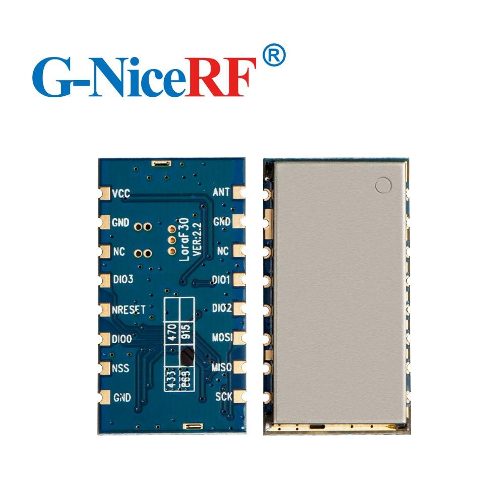 2pcs/lot Lora1276F30 1W 915MHz Wireless RF Module |6-8km Long Distance and High Sensitivity (-120 dBm)
