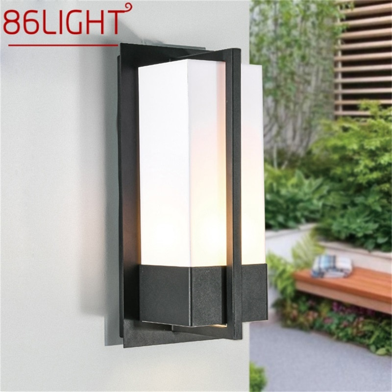 86LIGHT Outdoor Wall Light Sconces LED Lamp Waterproof Classical Home Decorative For Porch
