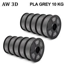 Le Filament 3D daw 10 roule le Filament 1kg 1.75mm tolérance +/-0.02mm 10kg qui respecte lenvironnement aucun matériel de stylo dimprimante de la bulle FDM 3D