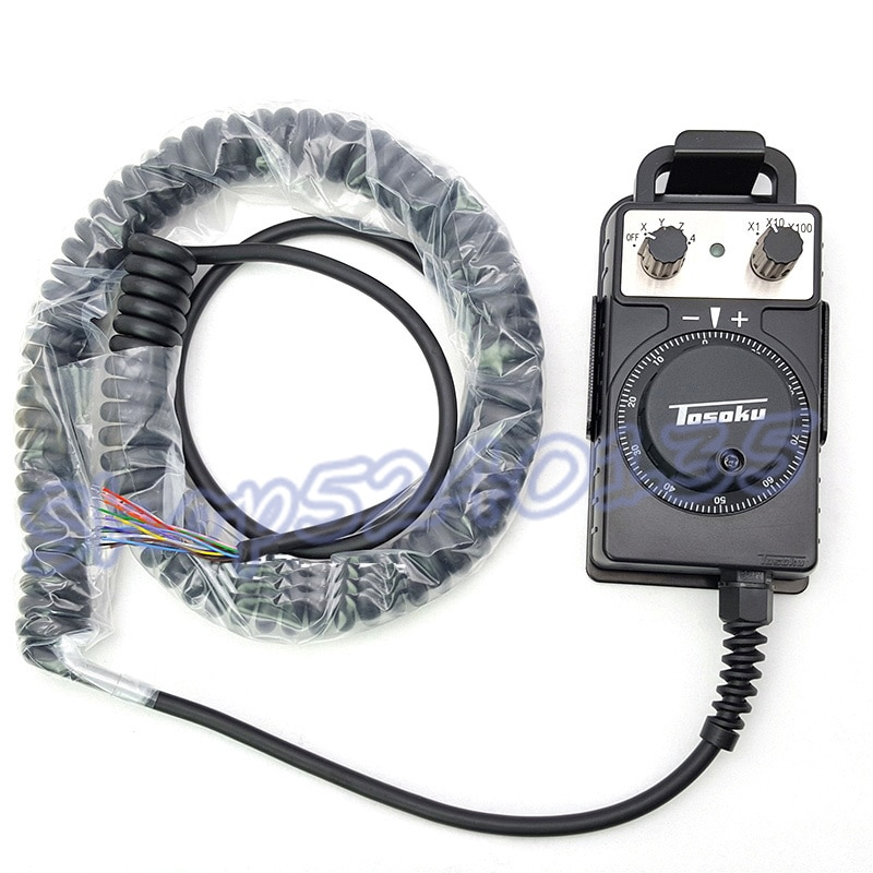 TOSOKU HC115 5 в 100PPR CNC рукоятка маховика ручной импульсный генератор для FANUC MPG