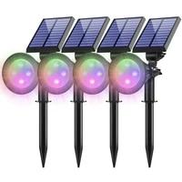 47 led solar light outdoor ip65 waterproof auto onoff lamps for garden decoration solar powered spotlights