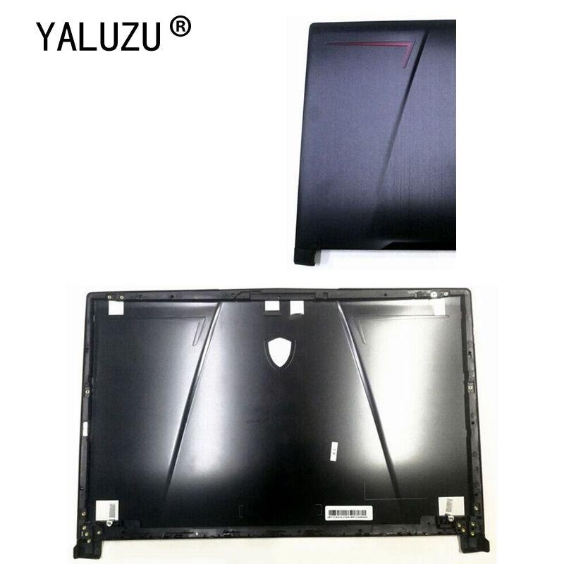 YALUZU-جراب كمبيوتر محمول 98% بوصة لـ MSI GP73 8RE GL73 ، غطاء خلفي LCD ، غطاء علوي ، أسود ، 17.3