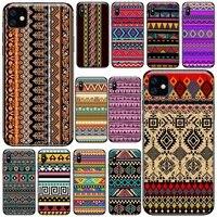retro artistic pattern color line phone case for iphone 11 12 pro xs max 8 7 6 6s plus x 5s se 2020 xr soft silicone cover funda