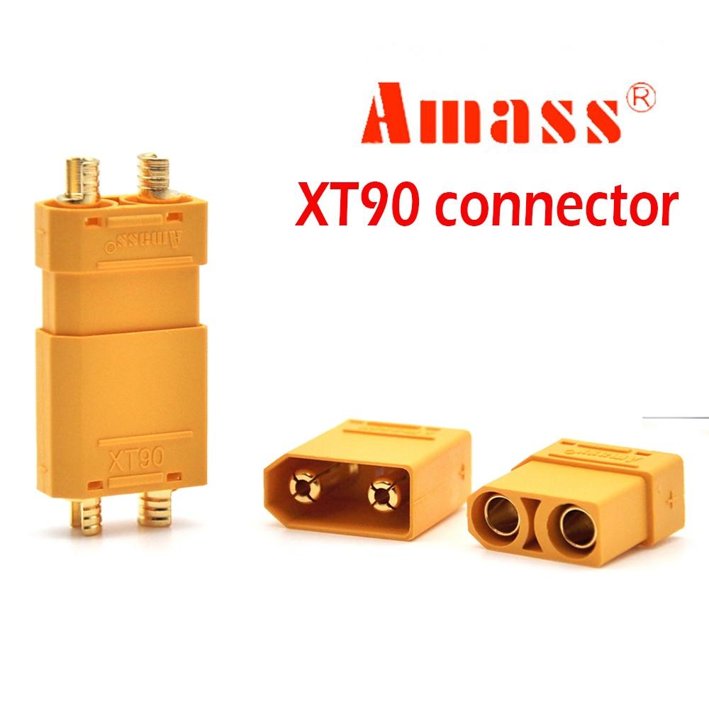 Стандартные разъемы Amass XT90, штекеры, разъемы питания для Lipo Battery RC Planes Drone RC Cars…