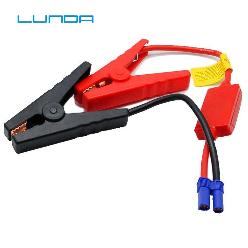 Conector de clip de batería rojo y negro, Cable de puente de emergencia, pinzas de batería de refuerzo para arranque de coche Universal de 12V