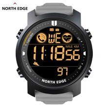 NORTH EDGE Smart Watch uomo cardiofrequenzimetro impermeabile 50M nuoto corsa sport pedometro cronometro Smartwatch Android IOS