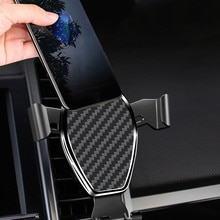 Anti-shake Phone Stands for Mobile Air Vent Mount Car Phone Holder In Car Cell Phone GPS Bracket Uni