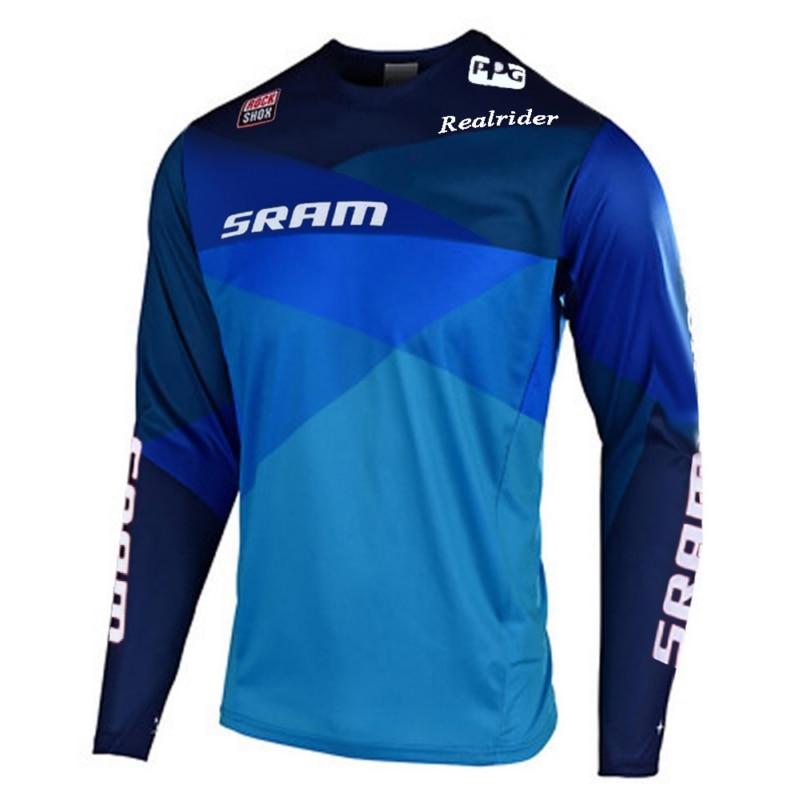 T-Shirt large moto pour sram Motocross   Vtt, Enduro off road, T-Shirt BMX DH vtt