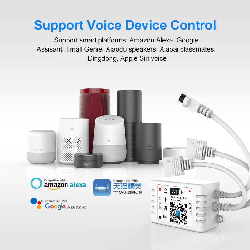 DC12-24V Bluetooth Wireless WiFi Magic Home APP RGB IR RF LED Controller For 3528 2835 5050 Strip Li