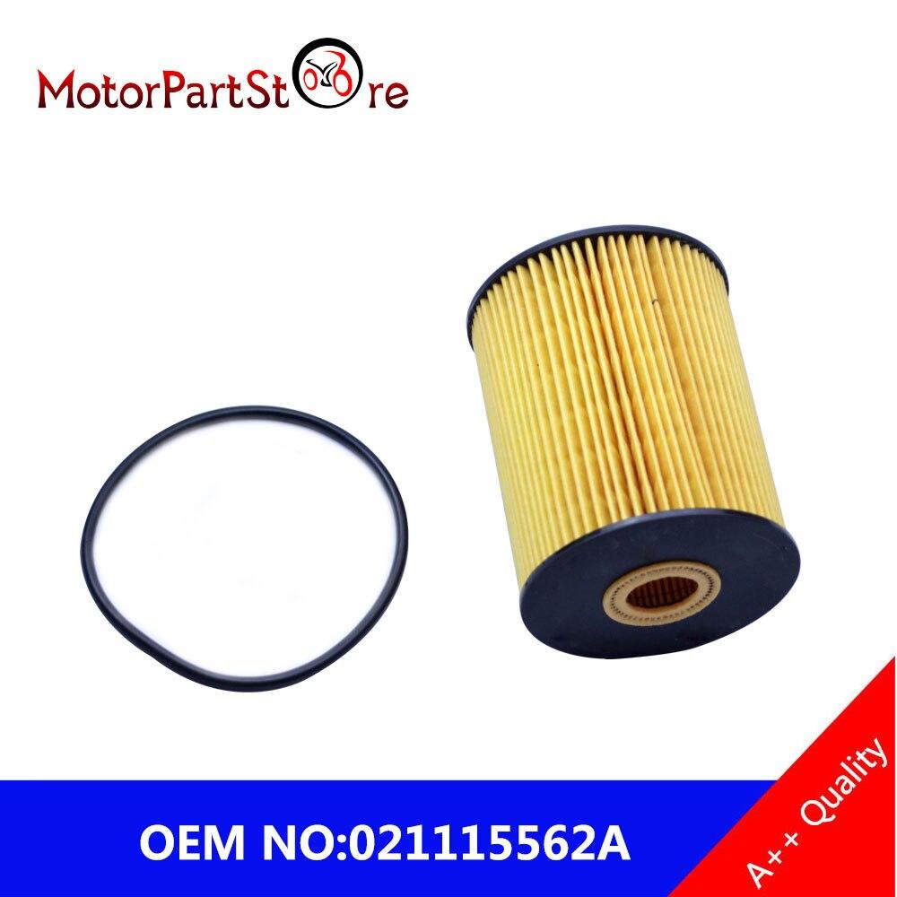 Caliente nuevo filtro de aceite para AUDI A8 Q7 VW PHAETON TOUAREG SHARAN PASSAT MULTIVAN Mk V GOLF III a Fit PORSCHE CAYENNE 3,6 021115562A