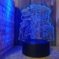 new novetly illusion nightlight 3d table display lamp led holiday gift baby night light anime figure acrylic