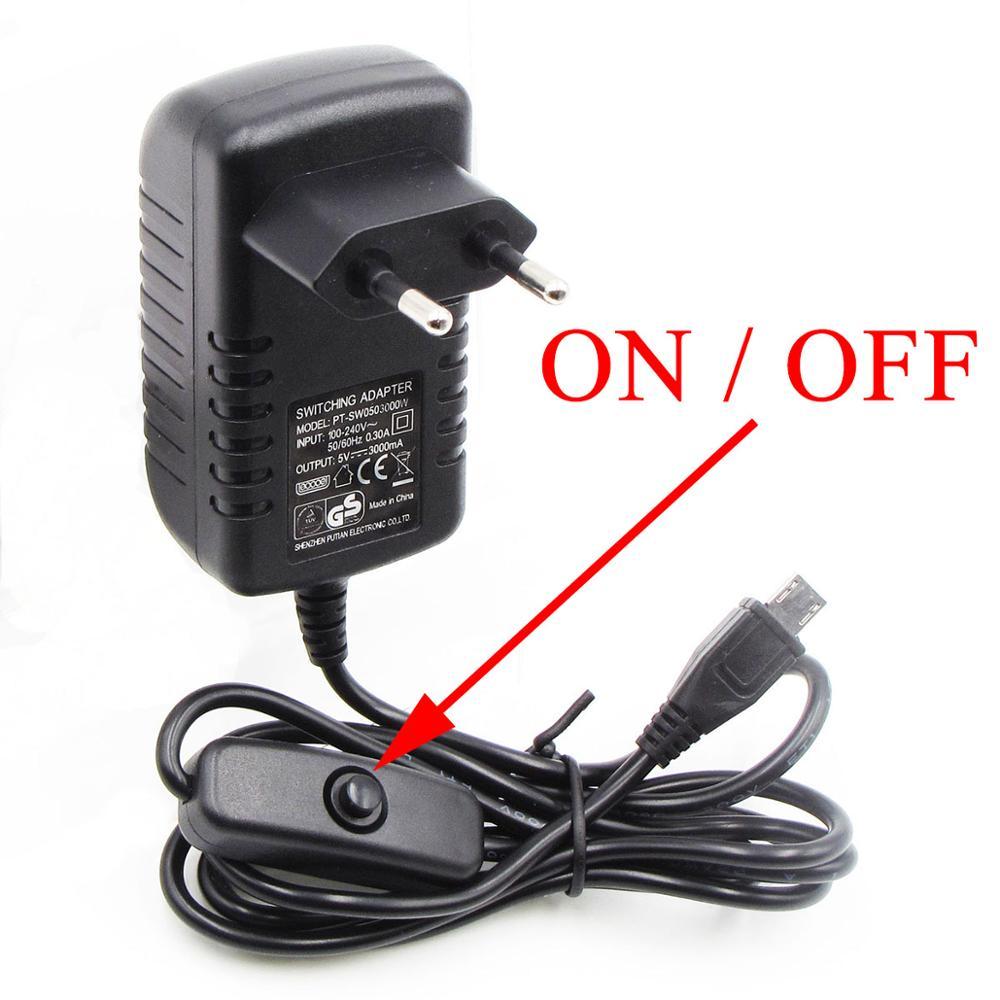 5V3A 5 V/3A Raspberry PI 3 Model B + plus adaptador de corriente USB cargador PSU fuente de alimentación unidad fuente de alimentación Switching Adapter Socket