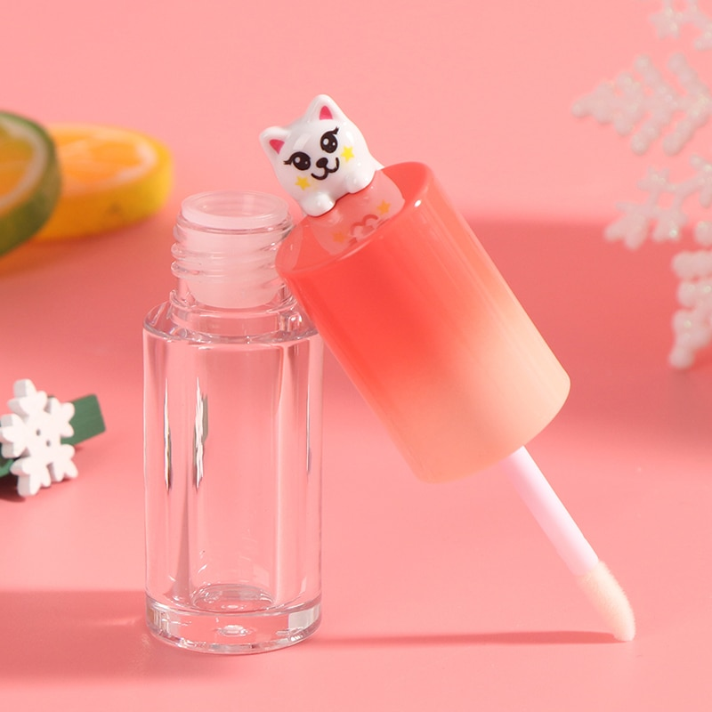 Plastic Lip Gloss Tube DIY Lip Gloss Containers Bottle Empty Cosmetic Container love heart diy lip gloss tube tube empty bottle lipstick tube sub bottle empty tube octagonal cosmetic container lip glaze
