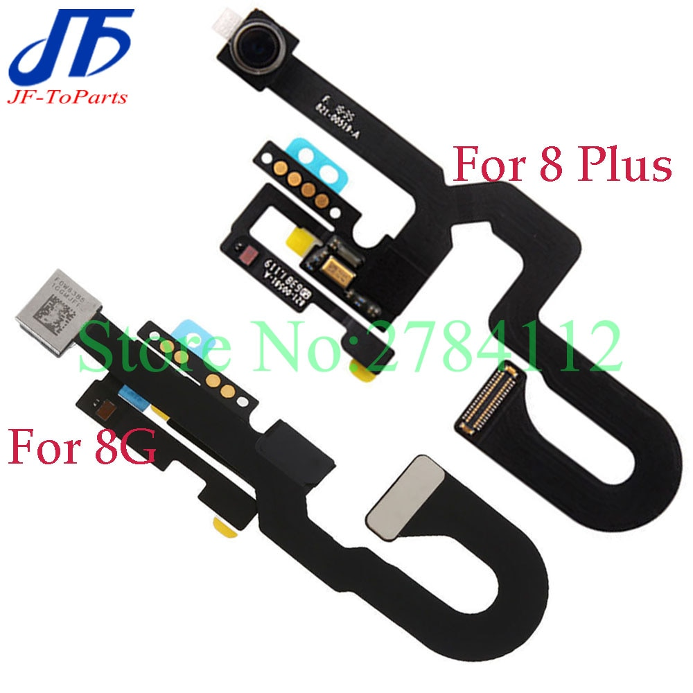 Cable flexible para cámara frontal pequeña con Sensor de proximidad, micrófono para iPhone X, 8 plus, 8G, 8 P, piezas de reparación 10 piezas,