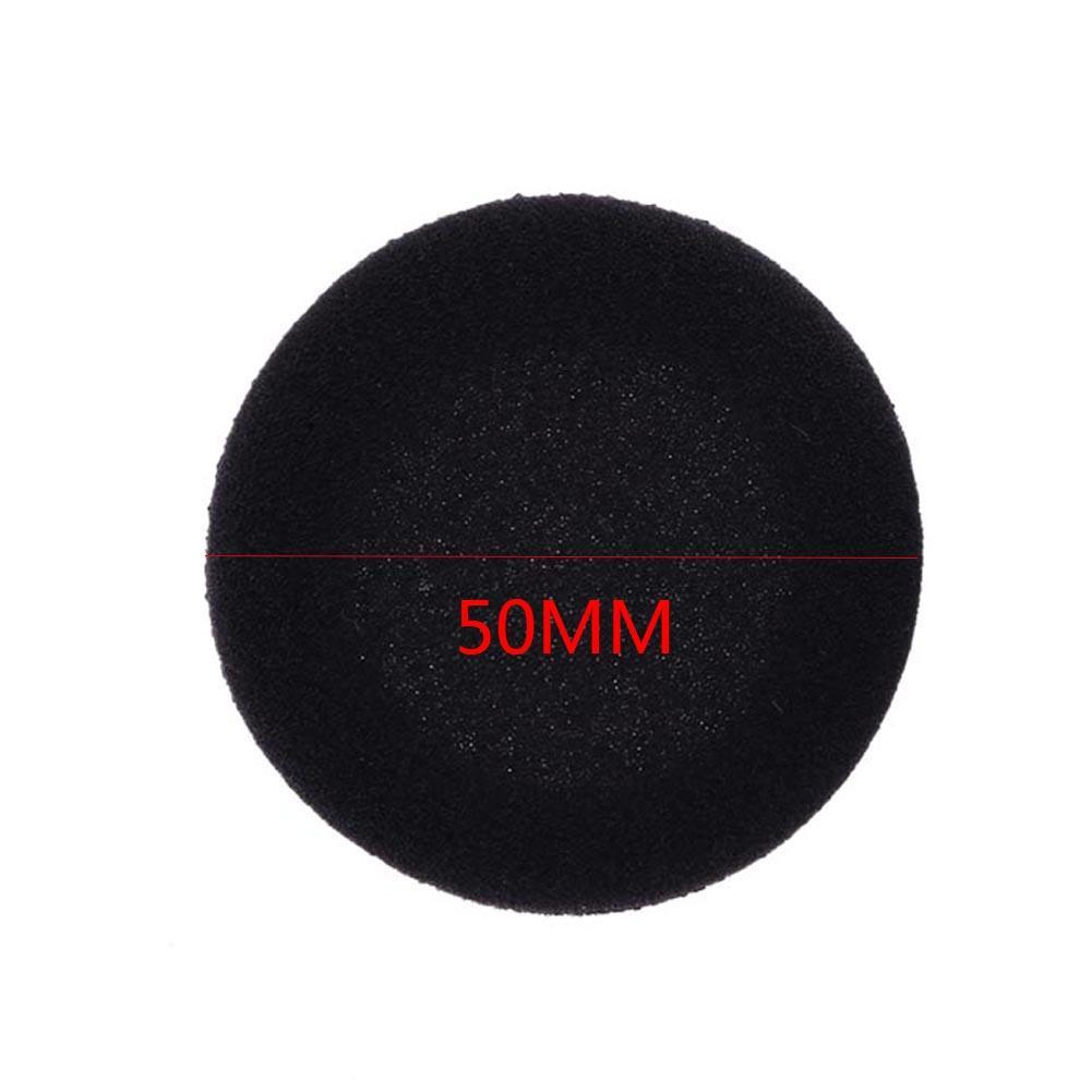 """10x50mm almofadas de espuma almofada de ouvido esponja earpad fone de ouvido capa para fone de ouvido 2"""""""