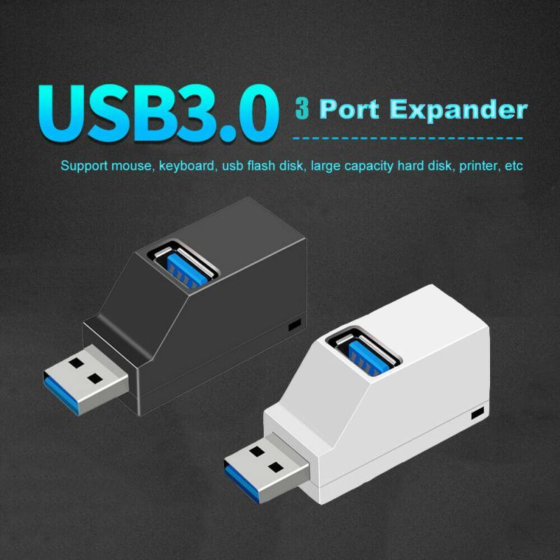 3 em 1 usb 3.0 hub para computador portátil adaptador computador usb 2.0 hub de carga 3 poorten notebook divisor dell lenovo accessoires preto