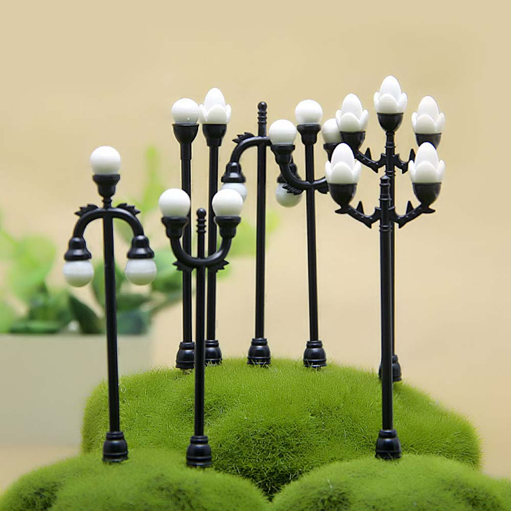 Craft Vintage DIY Miniature Lamp Creative Garden Home Decoration Mini Artificial Micro Landscaping For Handmade Accessories