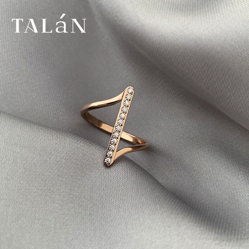 Simple and Irregular Ring Female Fashion Personality Simple Bracelet Forefinger Ring Ins Popular Net