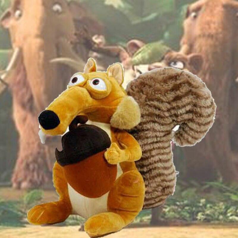 Faroot Animal lindo divertido muñeca Ice Age 3 SCRAT ardilla de peluche de juguete de dibujos animados de ratón masculino juguetes 7 pulgadas regalo de cumpleaños para chico
