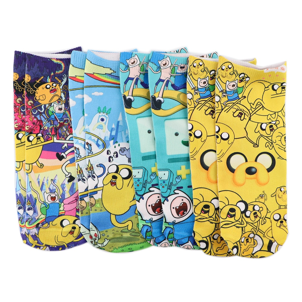 AliExpress - PF865 1 Pair Cute Anime Personalised Socks Invisible Low Cut Ankle Sock Casual Breathable Short Socks Unisex