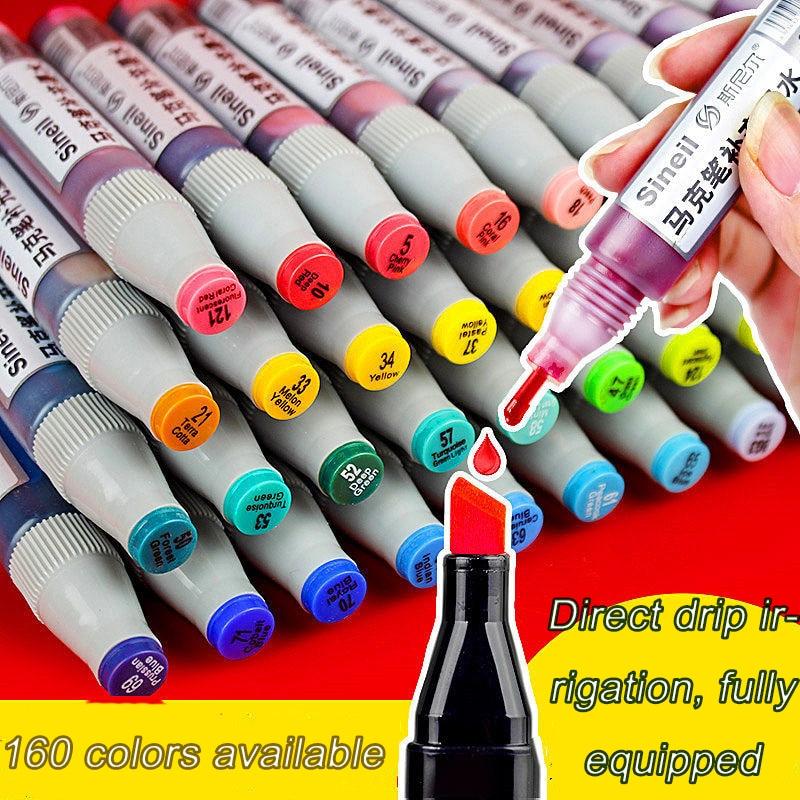 Ink Jar Mark Pen Replenishing Ink Office Supplies Metal Paint Contour Pen Replenishing Water Ink For Pen