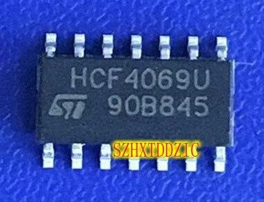 5 pcs/lot HCF4069U HEF4069UBT SOP14 [SMD]