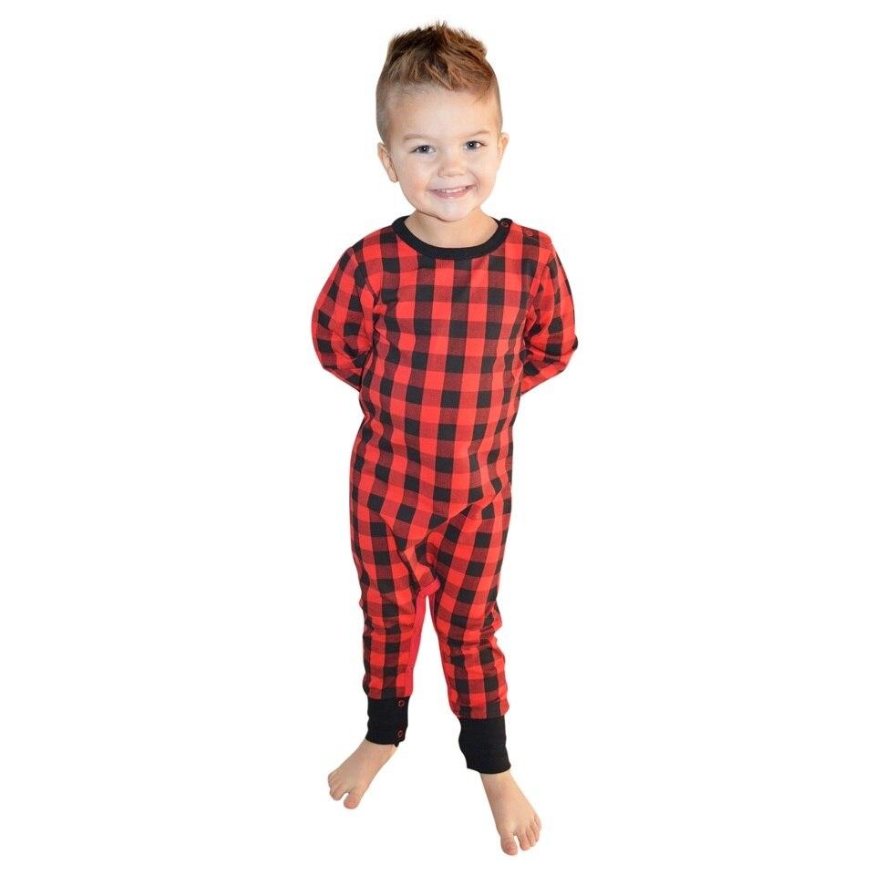 COSPOT, pelele para bebés y niños, mono a cuadros rojo para recién nacidos, pijamas para niños, Jumper, ropa para bebé (niño o niña), novedad de 2020, 50