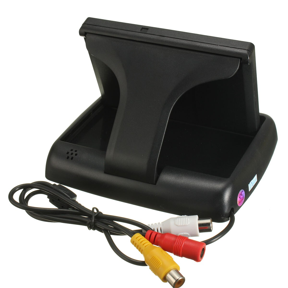 4,3 Foldable Monitor LCD plegable inalámbrico IR visión nocturna retrovisor Cámara inversa kit 7LEDs cámara de visión trasera del coche