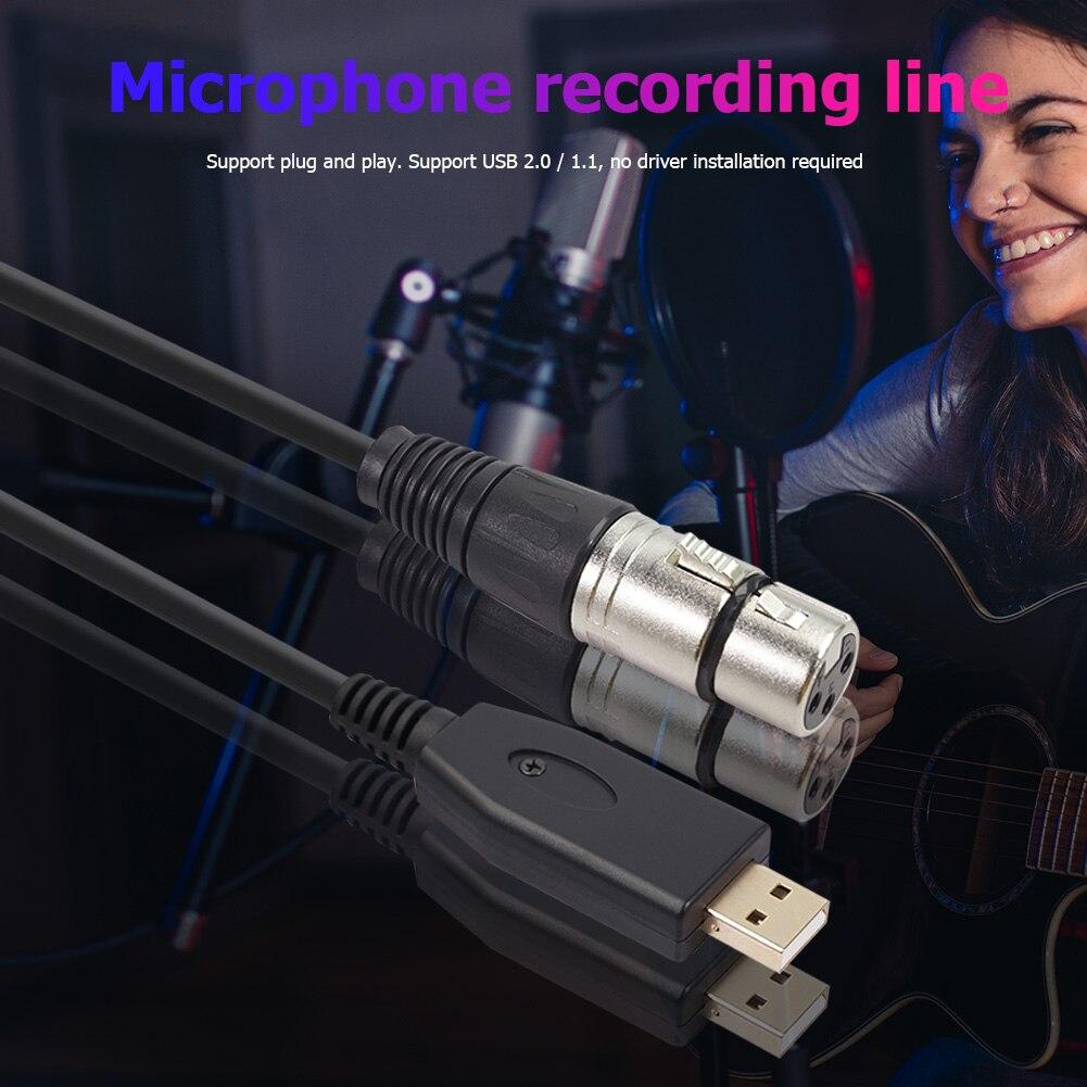 Cable de micrófono USB PARA Karaoke, accesorio Musical ligero y portátil de...