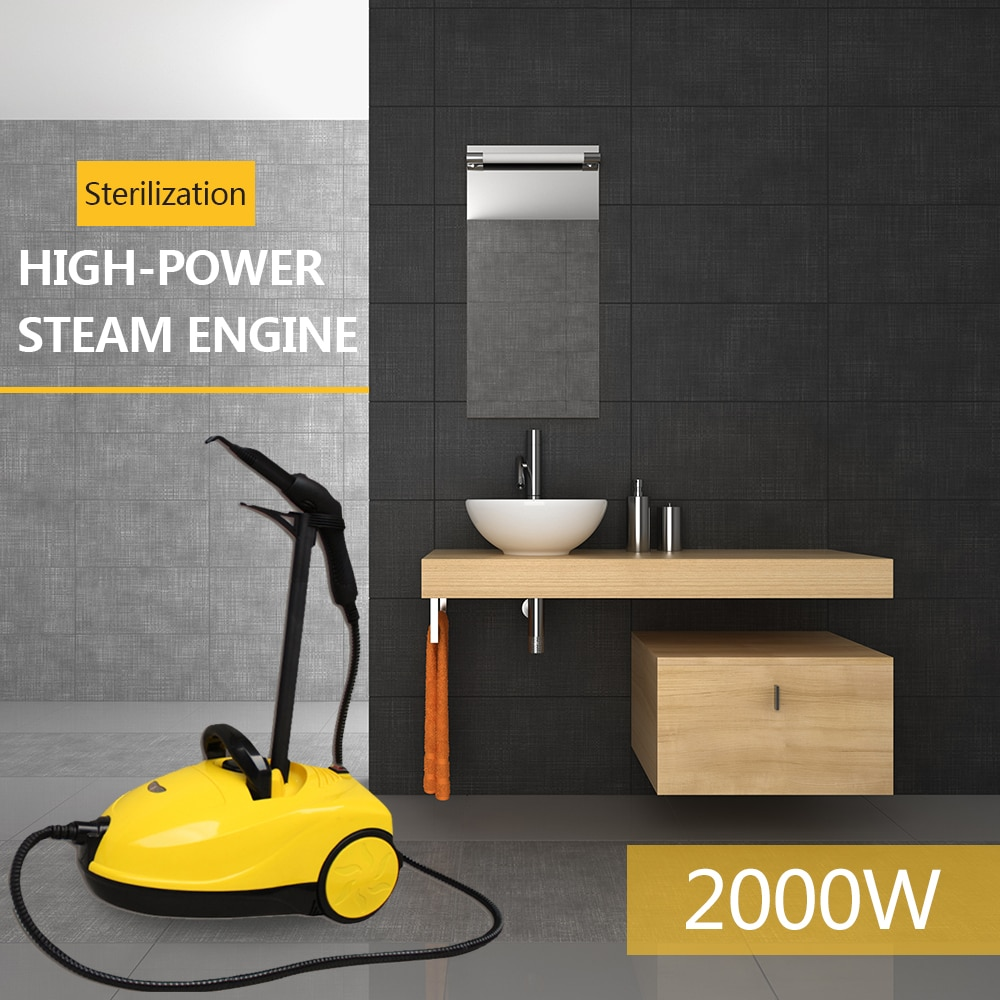 Steam Cleaner Powerful Portable Handheld Washer For Car Sofa Carpet Home Office Room Kitchen High Temperature 110V 220V