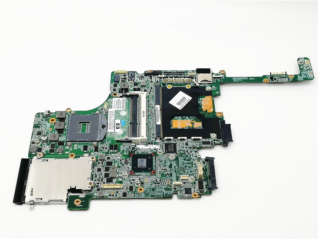 Free shipping for HP 8560W Laptop Motherboard 652638-001 Intel QM67 DDR3 Green Model 100% fully tested