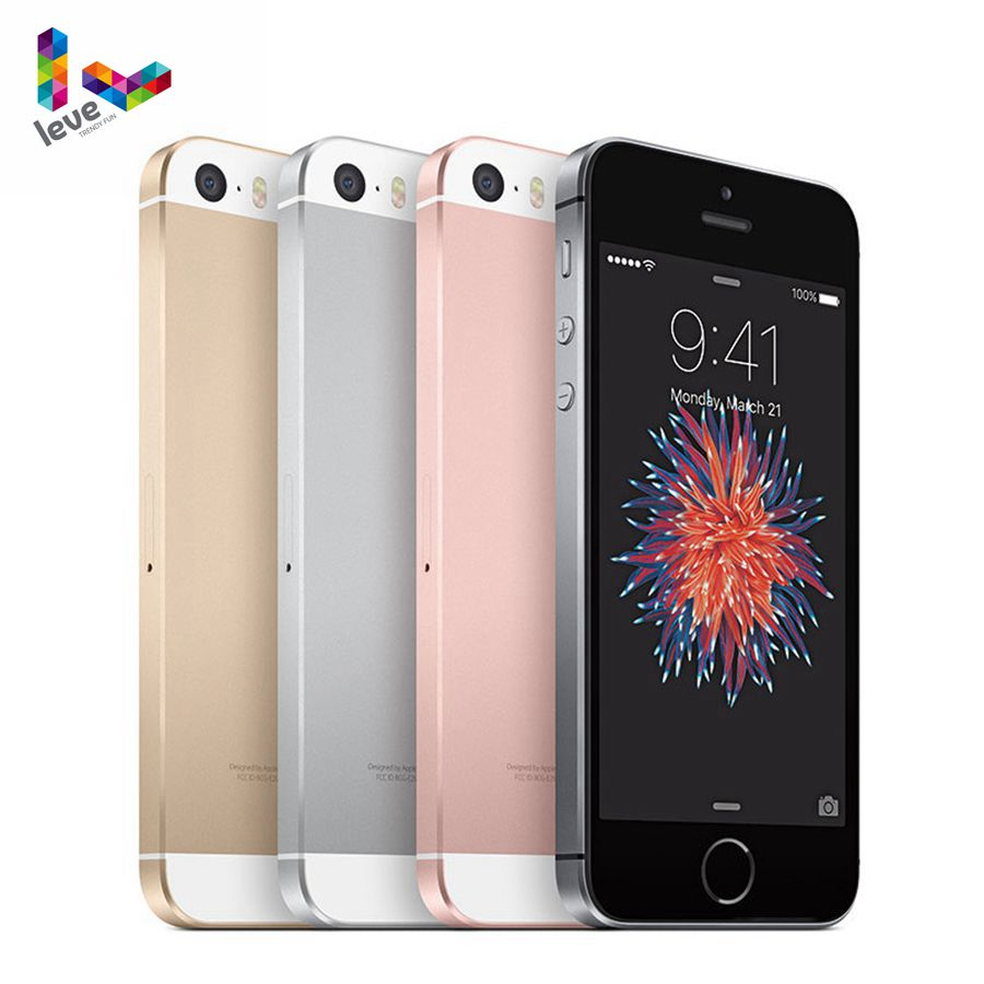 Get Apple iPhone SE 4G LTE Used Unlocked Smartphone 4.0″ Apple A9 Dual-core 16GB/64GB ROM 12MP IOS Touch ID Mobile Phone