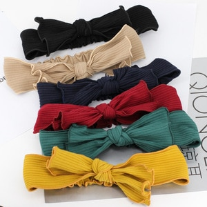 Free shipping Women's knitting bow headbands girl's hairbands basic Hair accessories rope headwear