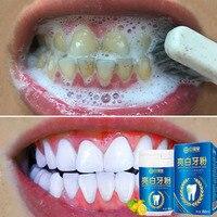 Порошок для отбеливания зубов, эссенция для очищения зубов, набор зубной пасты для гигиены полости рта для удаления пятен, улучшения зубног...