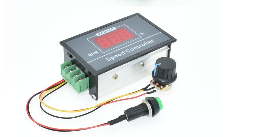 AliExpress - 30A Digital LED Display 0~100% adjustable DC 6V 12V 24V 48V Motor Speed Controller PWM