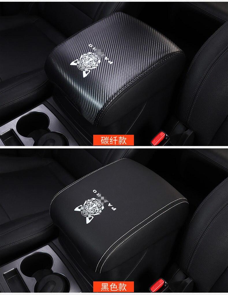 Cubierta de compartimento de reposabrazos antisuciedad para coche, conjunto de protección Pajero, modificación interior para Mitsubishi Pajero v73 v87 v93 v95 v98 v97