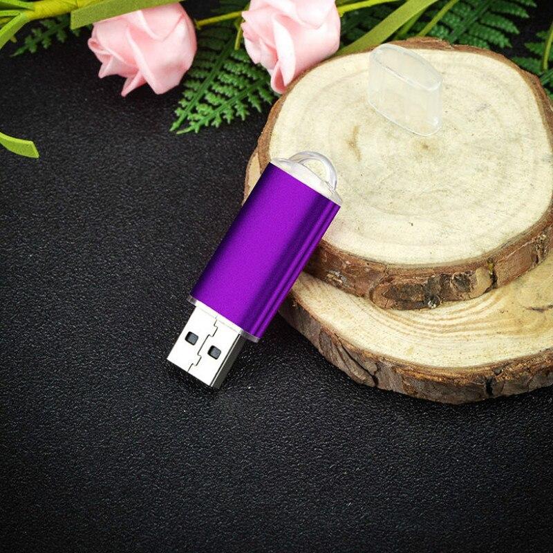 Mini usb flash drive de metal, pendrive de 32 gb, 8gb, 4...