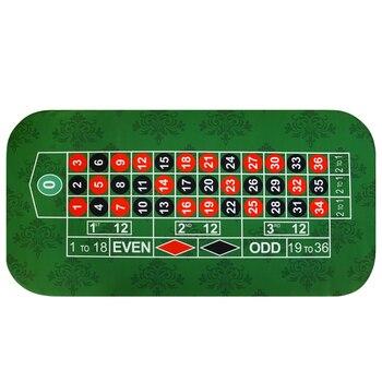 180*90 см резиновая Скатерти квадратный замши зеленого цвета для фотографирования с изображениями на игральные карты черный Jack покерный стол коврик для игр в покер, окаймленная тканью, с сумкой