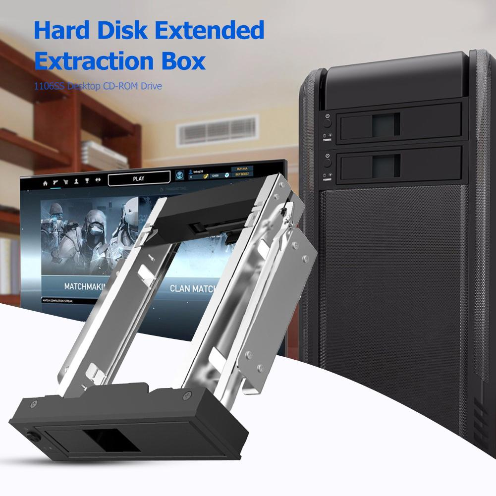ORICO 1106SS 3.5 inch CD-ROM Space SATA HDD Mobile Rack SSD Hard Drive Conversion Internal Mobile Backplane Enclosure