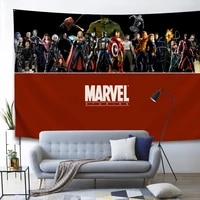 digital printing large marvel avengers tapestry wall covering curtain background cloth beach towel