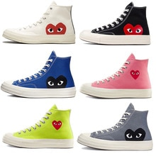 New Big Eyes 1970s Play Unisex Sneakers Breathable Lightweight Canvas Shoes Fashion Brand High-quali