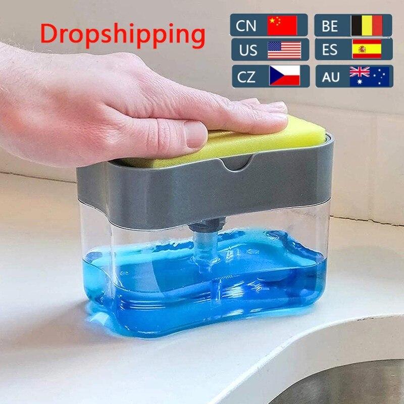 automatic soap dispenser bottle for liquid soap kitchen sponge soap dispenser kitchen sponge dispenser manual soap dispenser
