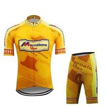 ropa ciclismo hombre Cycling Jersey set triathlon bike jersey set cycling clothing short sleeve and bib shorts 9D Gel Pad MTB