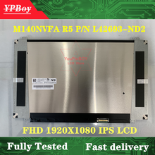 "14.0"" IPS FHD 1920*1080 EDP 30Pins For HP Elitebook 840 G6 laptop LCD display screen M140NVFA R5 P/N L42693-ND2 M140NVF7 R0 1.7"