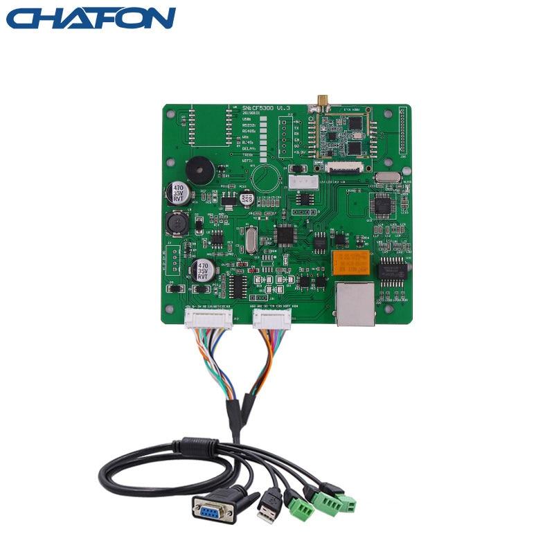الشافون-وحدة uhf rfid 865 ~ 868MHz 15M مع RS232/USB/WG26/مرحل/tcp/ip اختياري لمواقف السيارات ، SDK مجاني