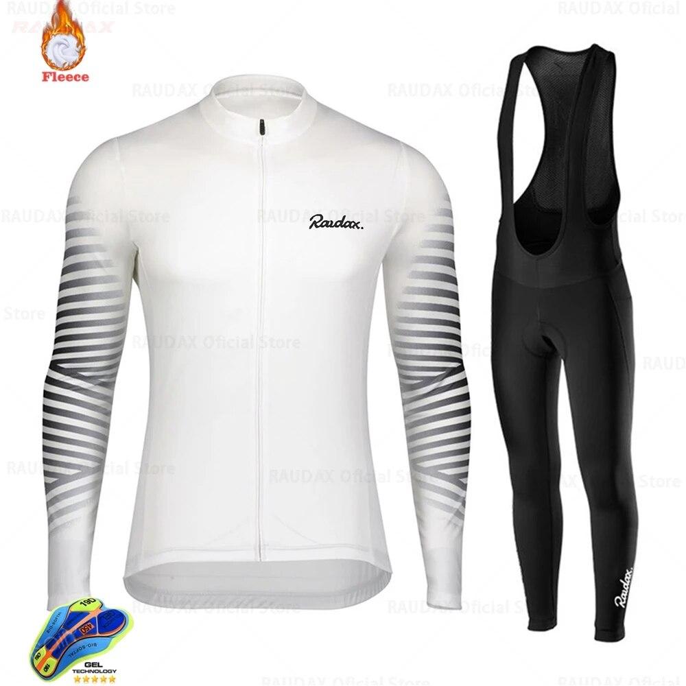 Raudax-Ropa de Ciclismo de invierno para equipo profesional de conjunto de pantalones...