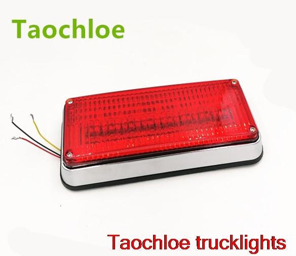 1x12 v 24v luces estroboscópicas led parpadeantes para motores de ambulancia lámparas policía patrulla luz perimetral 198x90x38x738mm